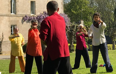 En formation d'enseignants avec Maître Liu Deming