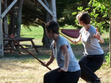 Armes : pratique de l'épée Kun Lun