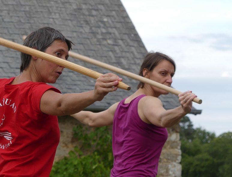 Arme : pratique du bâton
